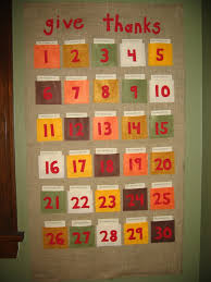 give thanks calendar moms this is an excellent craft to make with