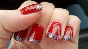 Home Design For Christmas Red Christmas Nail How You Can Do It At Home Pictures Designs