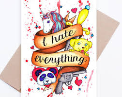 humorous cards etsy
