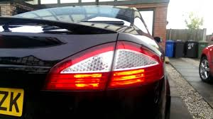 ford focus tail light bulb mk4 mondeo stop tail modification youtube
