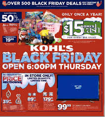 kohl s black friday ad 2014
