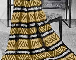 Wedding Gift Knitting Patterns Afghan Knitting Pattern Download Fan Vintage Pattern Gift