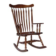 Western Rocking Chair Beautiful Blue Wood Simple Design Most Comfortable Chair Front