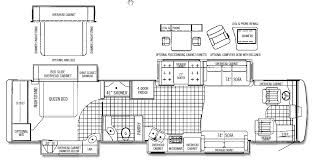 Rv Port Home Floor Plans by 2005 Tiffin Phaeton 40 Qdh