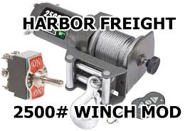 how to badlands 2500 wireless winch mounted switch mod youtube