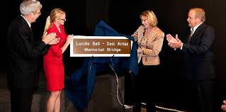 senator young and assemblyman goodell name bridge after lucy and