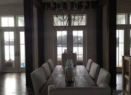 restoration hardware dining room carving wood back chairs black