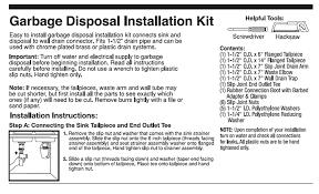home theater installation accessories garbage disposal installation kit amazon com
