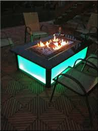 Glass Firepits This Custom Concrete Top Was Built By Our Customer Tim Masloski