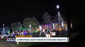 holiday lights tour detroit christmas light show in sterling heights youtube