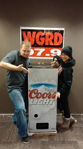 coors light beer fridge wgrd coors light fridge dispenser giveaway 97 9 wgrd