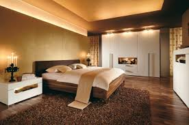 Wonderful Basement Bedroom Design Bed In The With Caw Skin On - Basement bedroom ideas