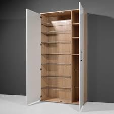 meuble egouttoir vaisselle meuble à chaussures 40 paires 2 portes en bois l100xp35xh200cm