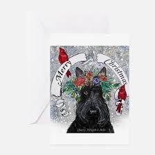 scottie greeting cards cafepress