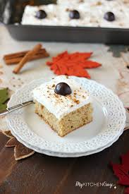 Halloween Poke Cake by Spiced Pumpkin Poke Cake My Kitchen Craze