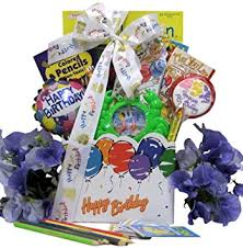 birthday gift basket great arrivals kid s birthday gift basket ages 6 to 8