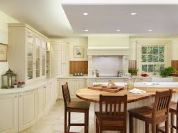 kitchen island home decor new england classic kitchen style with