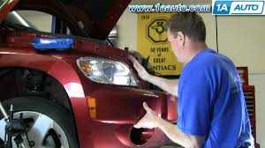 how to install replace headlight chevy hhr 06 10 1aauto com youtube