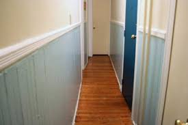 hallway paint colors breaking up a narrow hallway with paint colors