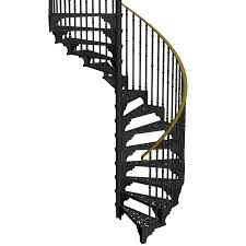 decor grey iron spiral staircase for sale with wood step for nice