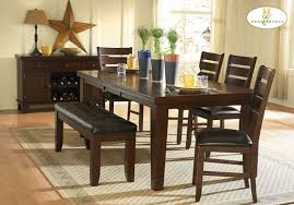 Dining Room Furniture With Bench Dining Room Furniture With Bench Dining Table Bench Black Dining