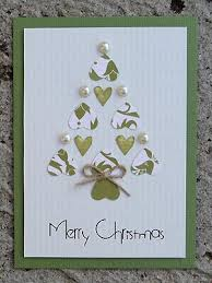 you could make these as your christmas cards with glitter glue