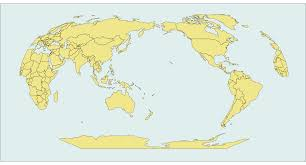 Robinson Map Dictionary Pacific Centric Robinson Projection With Ggplot In R