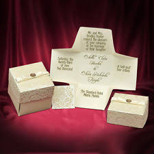 box wedding invitations wedding invitation box ebay