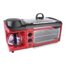 Toaster With Egg Maker Nostalgia Retro Series 4 Slice 3 In 1 Breakfast Station Toaster