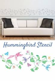 46 best africa bushmen stencils images on pinterest stencils this beautiful hummingbird stencil is an easy way to add some whimsy to your walls or