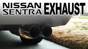 custom nissan sentra 1994 06 nissan sentra 1 8s custom exhaust demo youtube