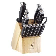 j a henckels international statement 15 pc knife block set