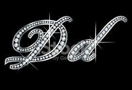d d script diamond bling dd letters stock vector freeimages com
