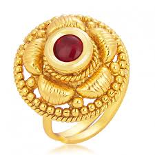 finger gold rings images Get sukkhi ravishing designer traditional cocktail gold plated jpg