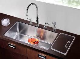 acrylic undermount kitchen sinks dawn dsc301717 undermount single to double combination bowl sink