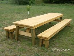 picnic table with separate benches diy picnic table with detached benches image collections table