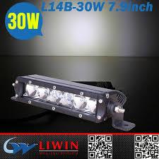 lw 12 volt auto led boat lights l14b 30w slim 6000k ac waterproof