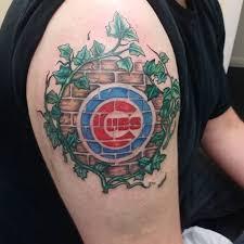 chicago cubs tattoo ideas rons tattoo cub tattoos area sports