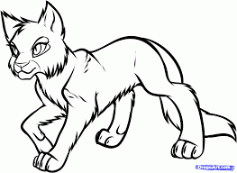 printable 34 warrior cat coloring pages 4797 inside of cats eson me