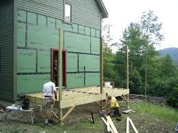 image of small porch roof framing a hip wrap around framing a