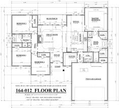 layout of house plan arts