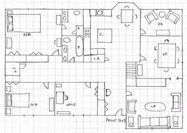 home design graph paper shocking ideas 5 drawing house plans on graph paper draw floor mac