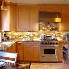 kitchen backsplash ideas with brown cabinets photos hgtv