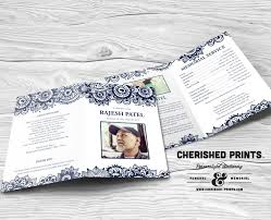 funeral program printing services 46 best funeral programs images on program template