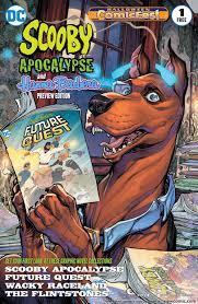 scooby apocalypse 001 2016 halloween comicfest special edition