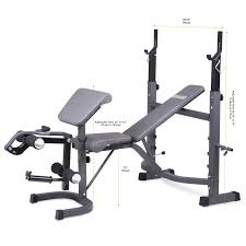 amazon com body champ olympic weight bench with preacher curl