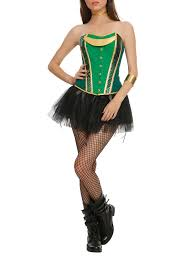 green u0026 gold corset topic