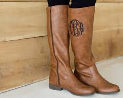 design your own womens boots monogrammed boots personalized boots black boots brown boots