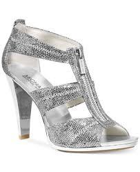 wedding shoes macys michael michael kors berkley t evening sandals sandals