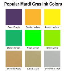 Meaning Of Color by Mardi Gras Special Krewe T Shirts 8 Custom Screen Printing